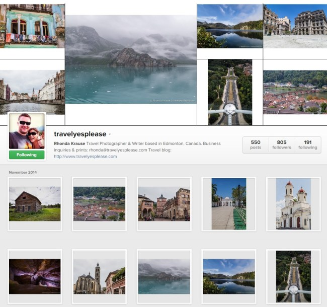 Travel? Yes Please! Instagram Gallery