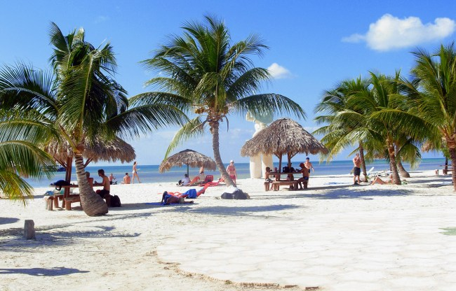 One of the many beaches in Varadero, Cuba.