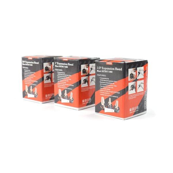 PEX Expander Head Package