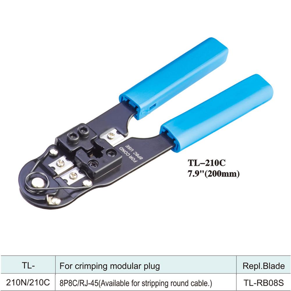 IWISS-Tools-Network-Crimper-TL-210C-7.9inch-200mm