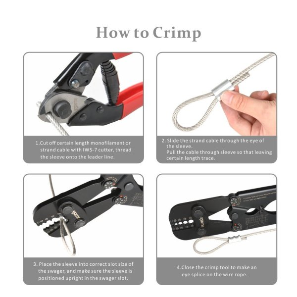 IWS-1608B Wire Rope Crimping Tool