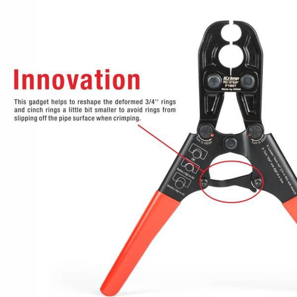 IWS-1234PS short hand pipe crimping tool