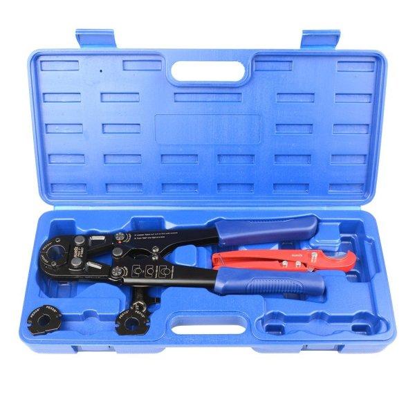 PEX Pipe Crimping Tool Kit