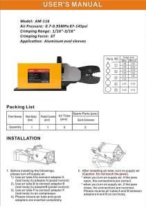 IWISS-AM-116-Instruction