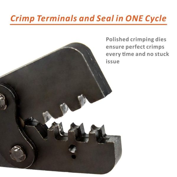 One-Step Weather Pack Crimp Tool