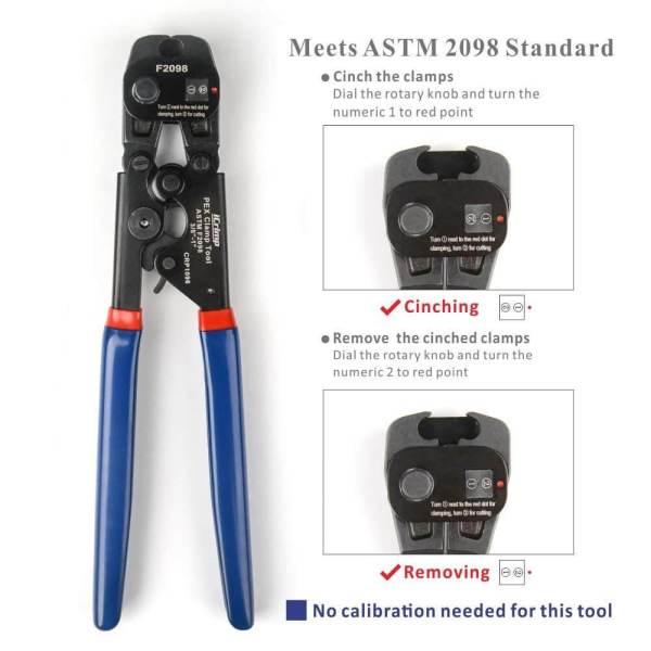 pex cinch tool F2098