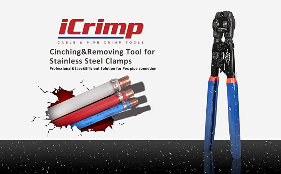 Icrimp pex cinch tool F2098 desctiption