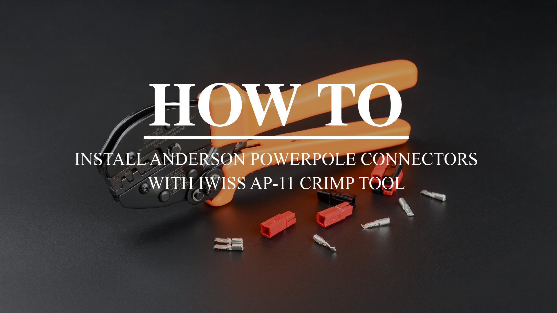 AP-11 ANDERSON POWERPOLE CONTACT CONNECTOR CRIMPING TOOL