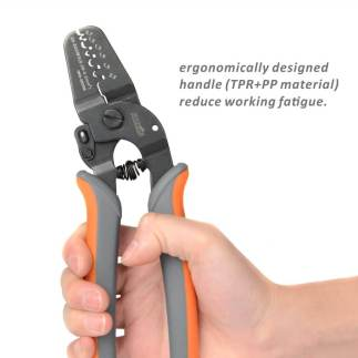 Mini Open Barrel Crimping tool IWS-2820M AWG28-20 7