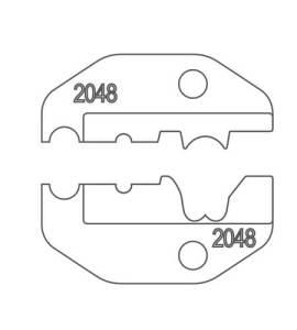 2048 conjunto de troqueles