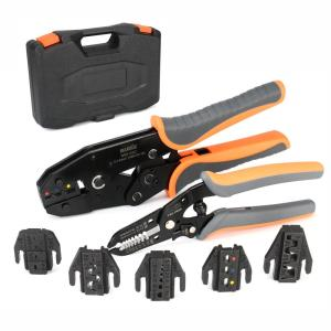 KIT-0535 ratchet crimping toolset