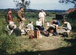 The original Newtown Camp group