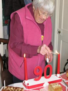 Chris Lipscombe's celebratory 90th birthday walk