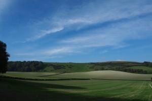 Countryside around Gatcombe