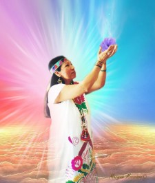 Peace Mother Geeta Sacred Song Master Healer and Enlightened Peace Shaman