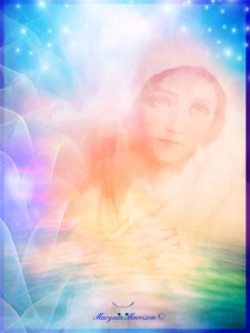 Divine Mother by Maryam Morrison Art