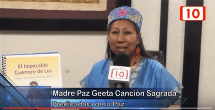Peace Mother Geeta Sacred Song Peace Shaman interview Merida Nov 12 2015