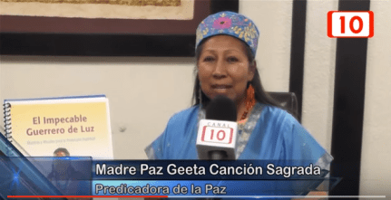 Peace Mother Geeta Sacred Song Peace Shaman interview Merida Nov 12 2015