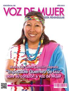 Voz de Mujer Mexico Madre Paz Geeta Canción Sagrada interview 2015