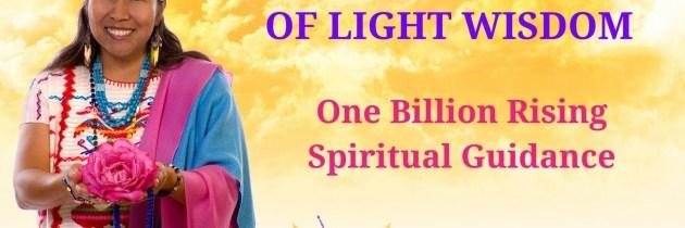 One Billion Rising-Spiritual Guidance. Peace Mother Geeta Sacred Song