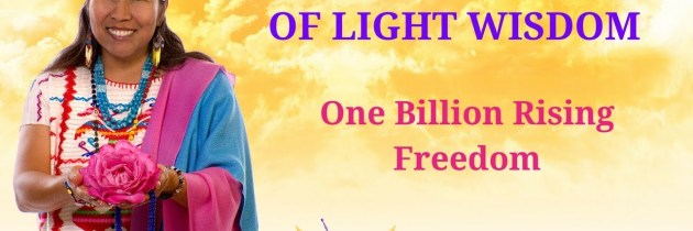 One Billion Rising-Freedom. Peace Mother Geeta Sacred Song
