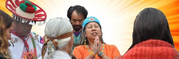 Shamanic Spiritual Energy Work: Song, Dance & Prayer Transforms Crisis Into Love/Peace Energy