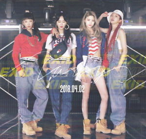 EXID, exid, lady, album, iwonchuu, kpop, albums, nederland, rotterdam