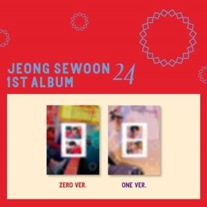 Jeong sewoon, 24, pt2, part 2, album, kpop album, kpop, nederland, holland, rotterdam, webshop