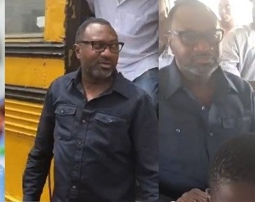 Billionaire Femi Otedola Rode On A Molue and Nobody Recognized him
