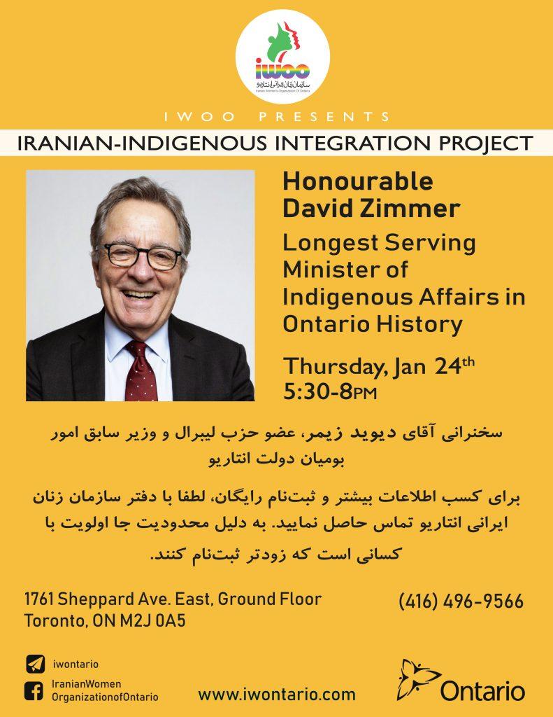 Iranian-Indigenous Integration Workshop Series- Workshop 4
