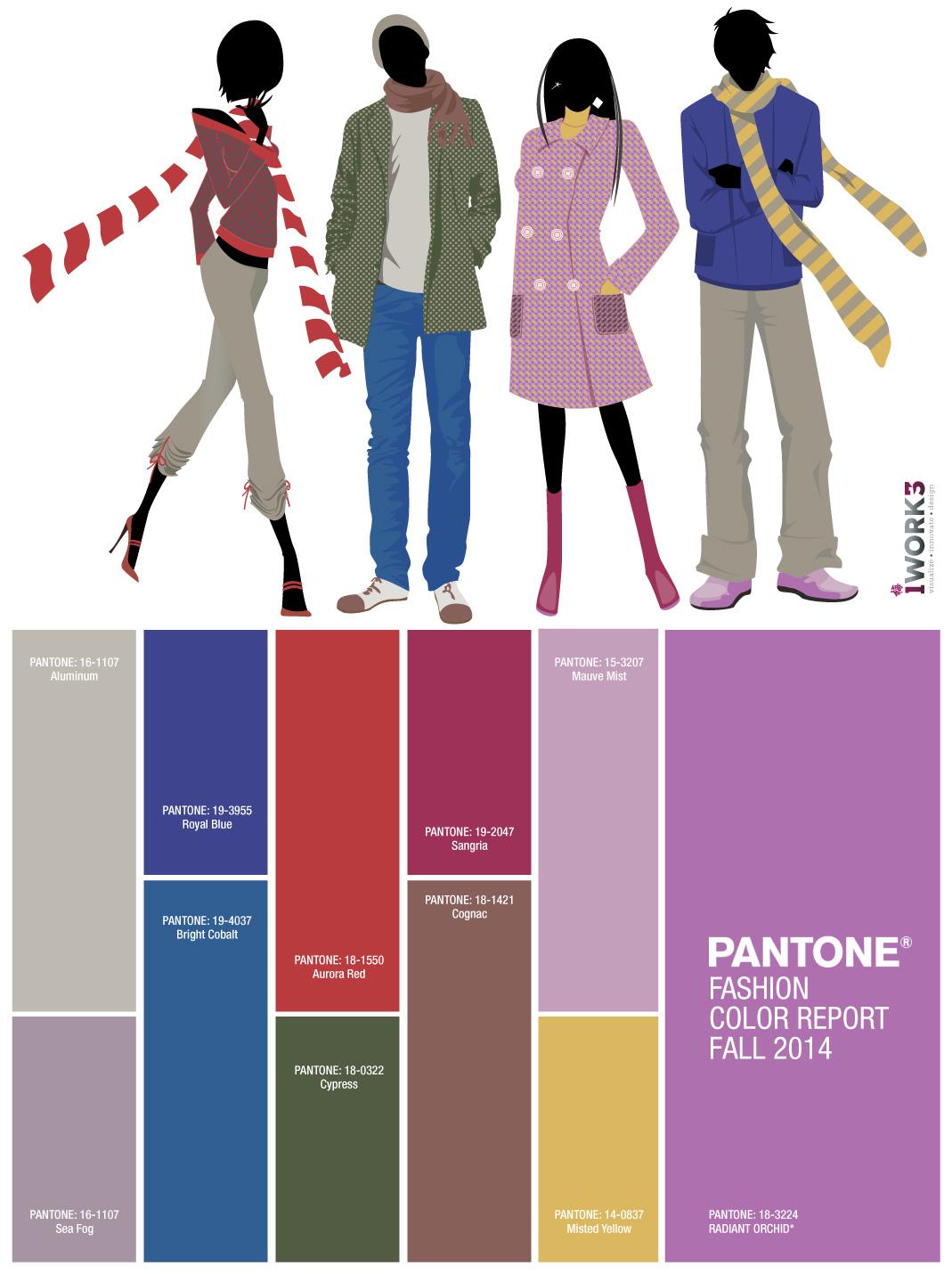 Pantone Fashion Color Report | Fall 2014/2015 | iwork3 ...