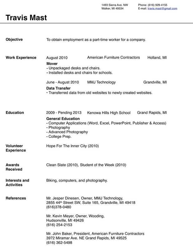 IWorkCommunity  Free Fill In Resume Template