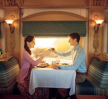 Indian Odyssey by Deluxe Rail - Deccan Odyssey