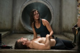 Rebecca Ferguson plays Ilsa and Tom Cruise plays Ethan Hunt in the motion picture 'Mission: Impossible - Rogue Nation' from Paramount Pictures and Skydance Productions. Credit: David James, Paramount Pictures [Via MerlinFTP Drop]