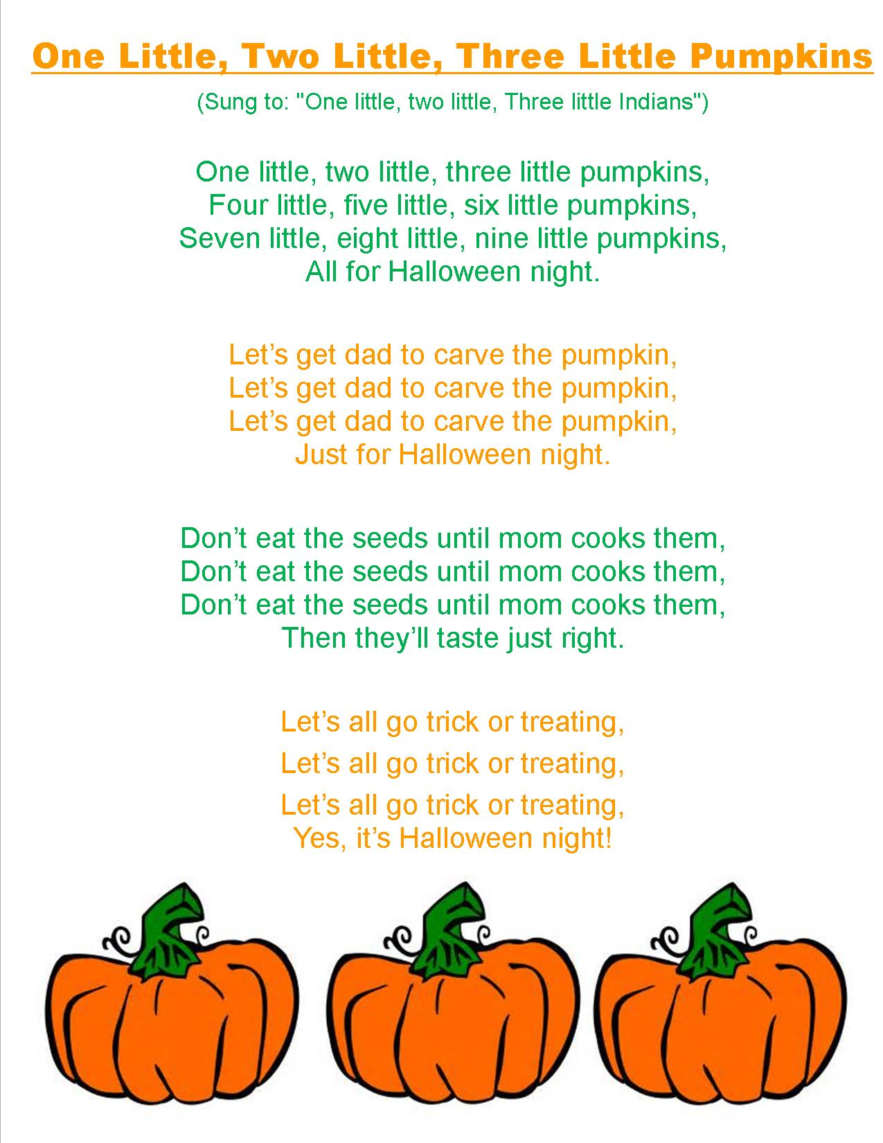 Jack O Lantern Songs Preschool