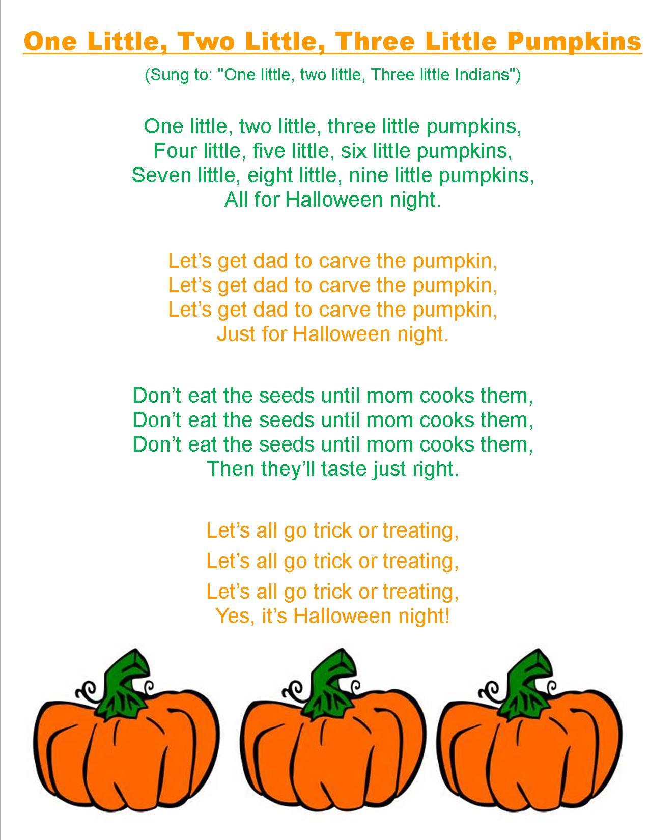 Jack O Lantern Songs Preschool