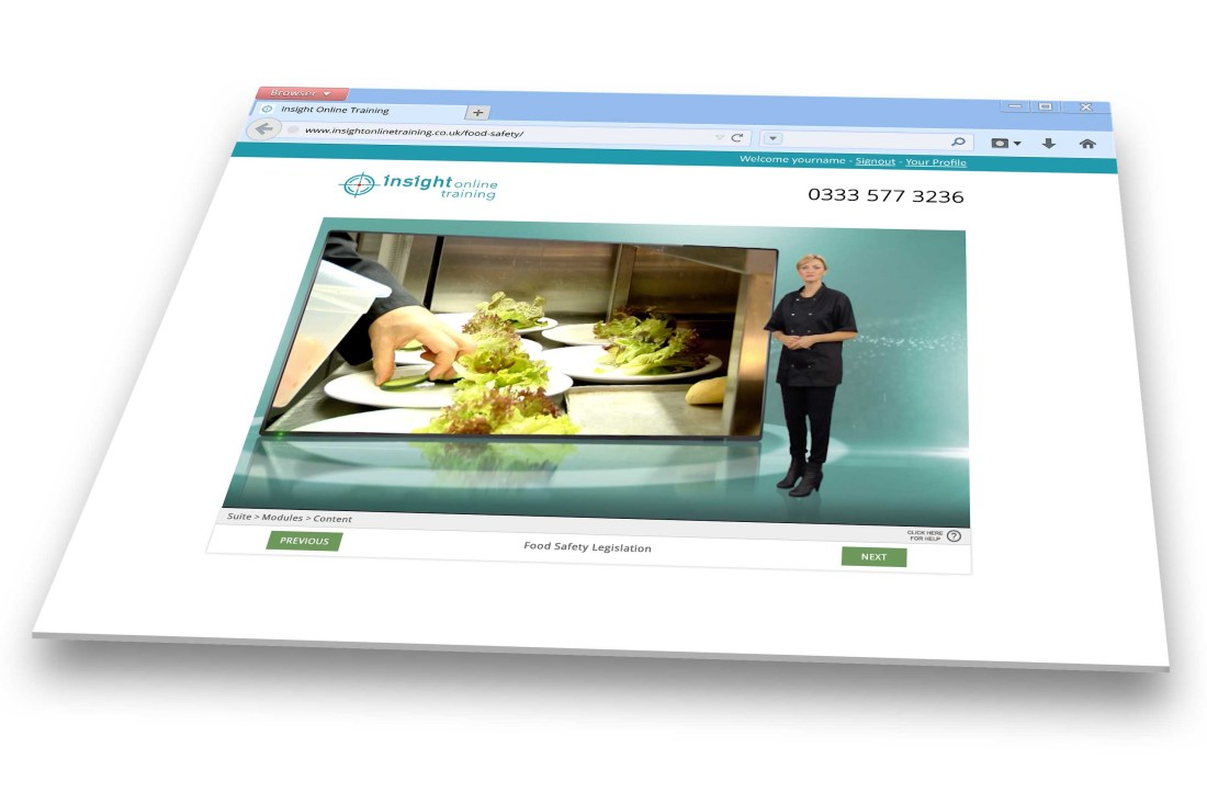 Food Safety in Retail Online Training