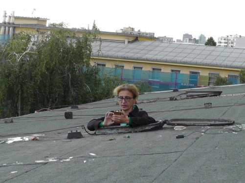 Nine Days on the Roof