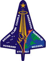 STS-107 Flight Insignia