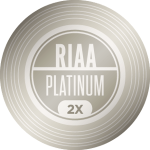 RIAA 2X Platinum Certification — 2,000,000 units