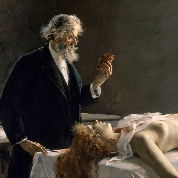 Enrique Simonet — Detail from La Autopsia (1890)