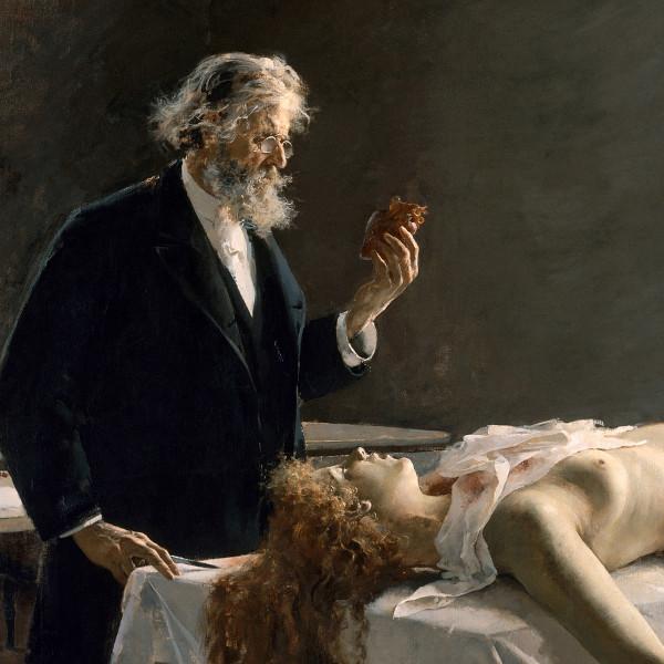 Enrique Simonet — Detail from La Autopsia (1890)
