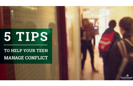 5 Tips to Help Your Teen Manage Conflict