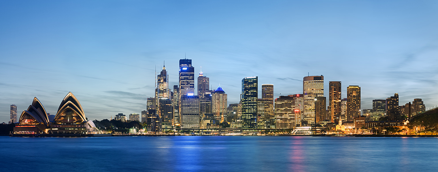 Sydney Cityscape at dusk
