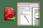 Как открыть вложения в PDF-файле и загрузить на жесткий диск?
