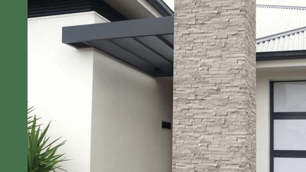 Private Residence - White Oak Splitface