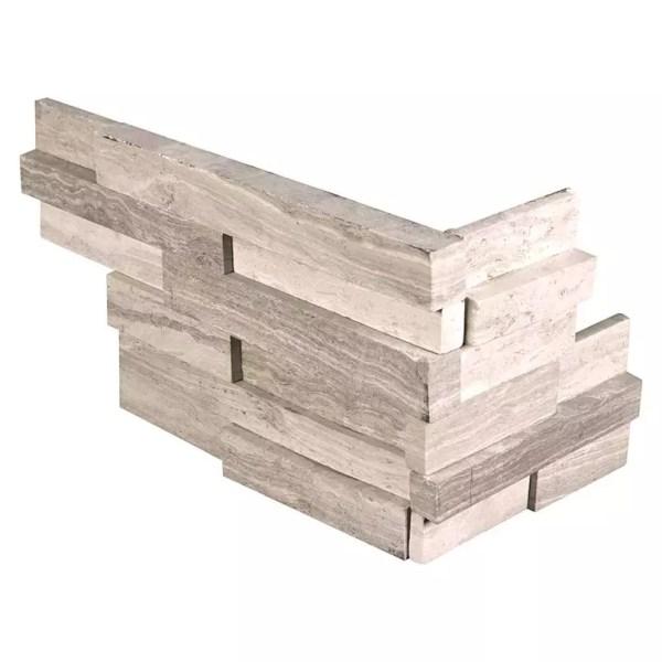 White Oak 3D Honed Corners