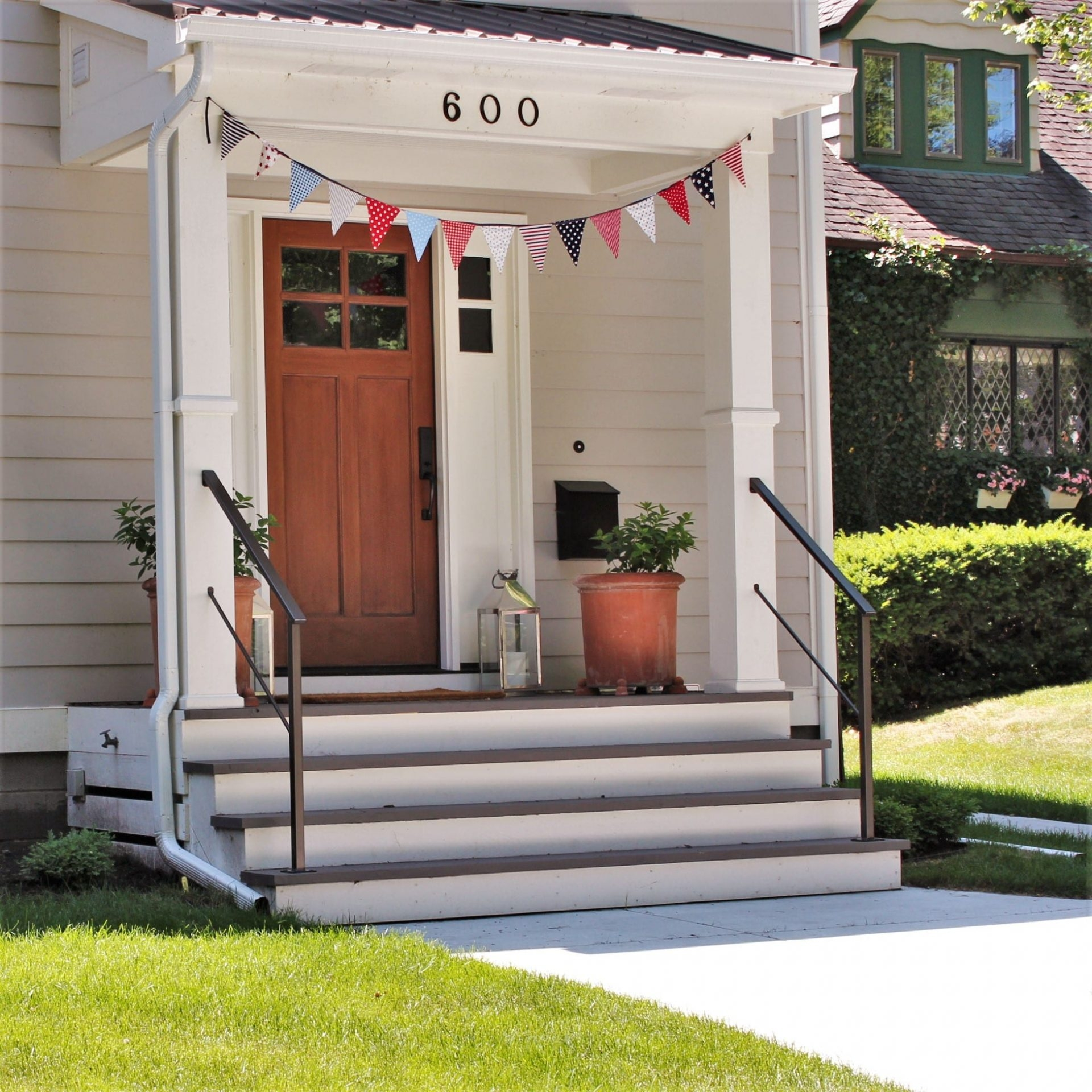 Classic Metal Handrails For Porch Steps Great Lakes Metal   Handrails For Porch Steps   Elderly   Makeover   Metal   Back Porch   Aluminum