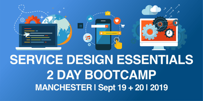 Service Design Essentials Bootcamp