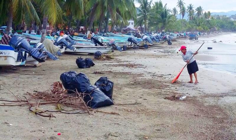 Limpieza de playa (2)